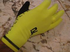 J2 Velosport Lightweight Winter Cycling Gloves Size S-XL Full Finger Hi-Viz
