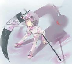 anime, franken stien, kid, scythe, smile, soul eater, spirit albarn