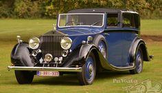 1936 Rolls Royce 25/30 J. Gurney Nutting Sedanca.