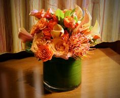 Tangerine is the color of the year, according to Pantone and the Fashionistas.....