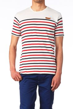 LOREAK MENDIAN Nautical, T Shirt, Stripes, Outfits, Fashion, Knight, Sweater Vests, Dios, Men Wear