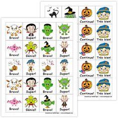 Merits for Halloween Amelie Pepin, Bricolage Halloween, Encouragement, Theme Halloween, Document, Monster, Meeting New People, Say Hello, Classroom Management