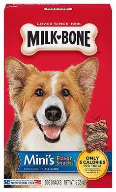 Milk-Bone Flavor Snacks Dog Treats   : Cat shopping