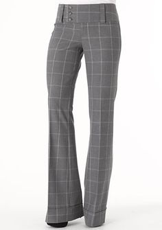 Stanton Stretch Trouser at Alloy - gray/multi pattern Clothing For Tall Women, Casual Dresses For Women, Pants For Women, Casual Outfits, Cute Outfits, Professional Wardrobe, Work Wardrobe, Fashion Pants, Fashion Outfits