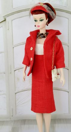 Red Flame!  for Silkstone Barbie and Integrity Dolls by Nashas on Etsy