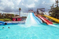 #MagicWorldParco #divertimento #napoli #estate #scivoli #piscina
