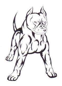tribal_pitbull_by_aki_the_wolf.jpg (482×672)
