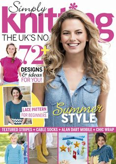 ISSUU - Simply knitting august 2015 by Camelia July