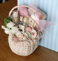 May Day Petite Basket by Fated Follies, via Flickr