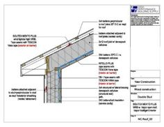 Pipe Penetration Flashing Detail For A Built Up Roof