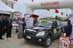 Rallye des Colombes in Morocco