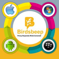 BirdsBeep - #Multiplatform #Chat #Application - Available on Google Play and IOS App Store