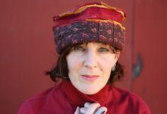 Felted Hat  Zamirte - Textile Art