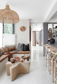 Getting Bored With Your Home? Use These Interior Planning Ideas – Lastest Home Design Home Living Room, Living Room Decor, Living Spaces, Minimal Kitchen Design, Pastel Interior, Studios, Home Decor Inspiration, Hygge, Home Interior Design