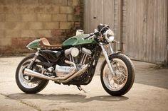 Custom H-D Cafe Racer » Redmax Speedshop - Bikers Cafe