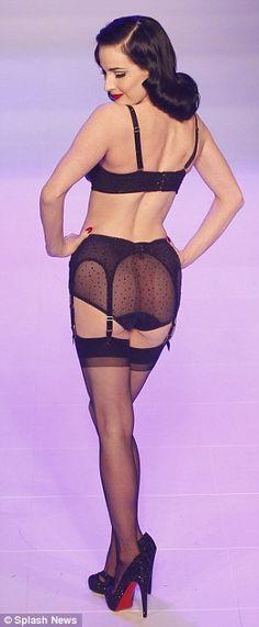 Dita's Von Follies lingerie line.