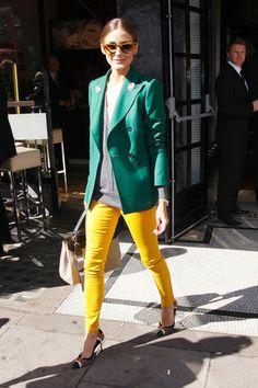 look verde e amarelo 4