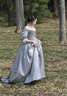 Want want want  Before the Automobile: 1660's dress