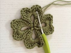 Irish Clover Granny Square. I like this for the free 4 leaf clover pattern