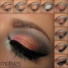 We have the pictorial to create this dramatic look by #theamazingworldofj using #motivescosmetics
