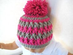 Crochet Pattern for Baby Beanie or Hat      I love being able to have a pattern that can be used for everybody in the family...
