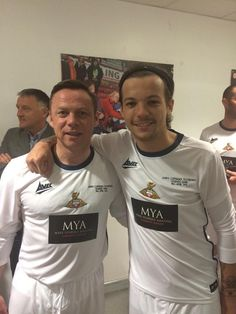 @ drfc_official: Here's the boss Paul Dickov with before today's game (Louis - Rovers Legends Game - Legend Games, Match 3, Louis Williams, Louis Tomlinson, Fangirl, Boss, How To Make, Mens Tops, Game 4