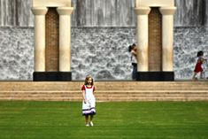 The Waterwall (a.k.a. Gerald D. Hines Waterwall Park, the Williams Waterwall, & the Transco Waterwall) -- an architectural fountain featuring 64 feet of falling water on both sides of the semi-circle.  A favorite spot for engagement photos.