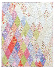 Prism, pieced by Paul Krampitz and quilted by Miriam March