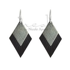 Diamond Fringe Earring Chocolate   Diamond Fringe by PreshStudio