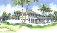 Wissel Construction - Plan A - Windsor Vero Beach, Florida Windsor Florida, Plan A, How To Plan, Golf Estate, Vero Beach, Tropical, Construction, Exterior, Building
