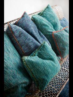 Tweeds em mais de 20 cores colecao 2015 Dominique Kieffer exclusivo Safira