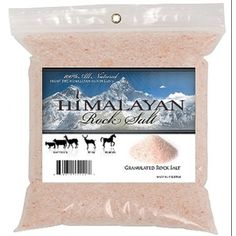 Himalayan Salt Granules, 2.2 Lbs by Talisker Bay. $5.66. PK. 100% all natural - from the himalayan mountains. Source of minerals and trace elements for your horse or pony.