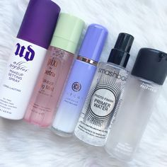Not a big fan of the Smashbox Water Primer, but I'm an avid Urban Decay All Nighter Setting Spray! (Haven't tried the others)