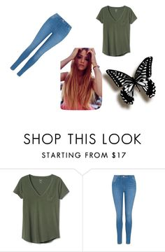 """""""Untitled #30"""" by cambree-moss ❤ liked on Polyvore featuring beauty, Gap and George"""