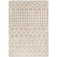 Surya Urban Shag Beige Indoor Bohemian/Eclectic Area Rug (Common: 9 x Actual: W x L) at Lowe's. Our rugs from the Urban Shag Collection feature striking global inspired designs that endure at the forefront of contemporary trends. The meticulously Moroccan Area Rug, Moroccan Style, Moroccan Print, Moroccan Pattern, Oriental Pattern, Trellis Pattern, Online Home Decor Stores, Beige Area Rugs, Colorful Rugs
