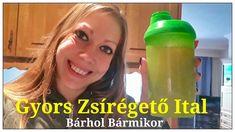 Gyors Zsírégető Ital Bárhol Bármikor | Étvágycsökkentő - YouTube Drink Bottles, The Creator, Protein, Water Bottle, Youtube, Drinks, Diet, Drinking, Beverages