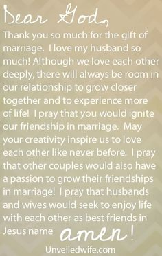 Prayer Of The Day – Igniting Friendship In Marriage by @Unveiled Wife