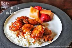 My Biscuits are Burning: Easy Mandarin Chicken