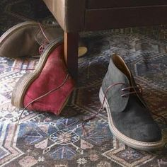 Colored Chukka Boots