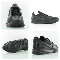 Kobe Bryant's career may be coming to an end but his shoe game is still on top. Nike KB Mentality black