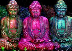 Three Buddhas - The Three Jewels