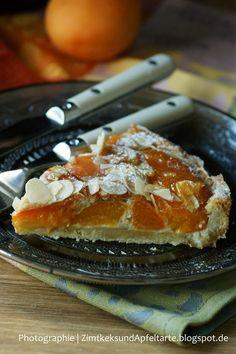 Sommerliche Aprikosentarte mit Mandelguss - Zimtkeks und Apfeltarte