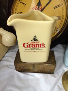Collectible William Grant's Whisky Water Jug by Bontboy1971 on Etsy
