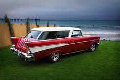 1957 Chevy Nomad.