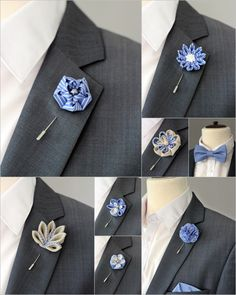 A personal favourite from my Etsy shop https://www.etsy.com/listing/201694540/1-flower-lapel-pin-mens-lapel-flower