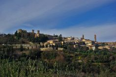 Tuscany in Winter - Montalcino Brunello Di Montalcino, Seattle Skyline, Tuscany, Monument Valley, The Good Place, World, Winter, Places, Nature