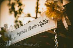 Mobile Espresso Bar for Weddings