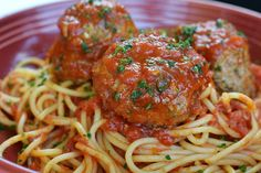Carrabba's Spaghetti & Meatballs and other Recipes
