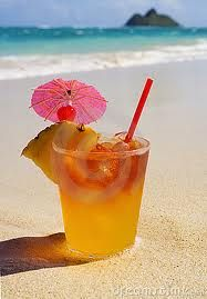 Mai Tai - I'd drink them all day long!