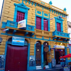 An old house at La Boca, Buenos Aires. Argentina
